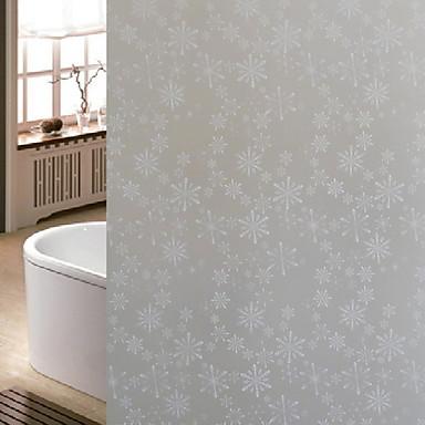 فيلم نافذة وملصقات زخرفة عيد الميلاد وردة / عطلة PVC ملصق النافذة / محبوب