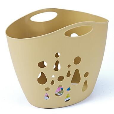 بلاستيك مستطيل تصميم جديد / كوول الصفحة الرئيسية منظمة, 1PC حقيبة الغسيل و السلة