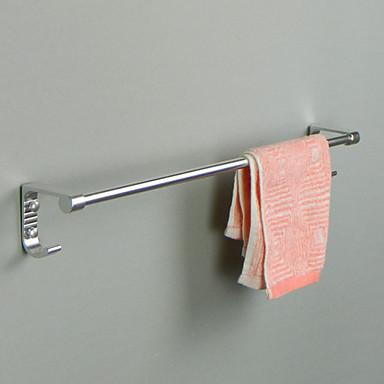 قضيب المنشفة تصميم جديد معاصر الالومنيوم 1PC فردي مثبت على الحائط