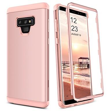 billige Dagens Tilbud-BENTOBEN Etui Til Samsung Galaxy Note 9 Stødsikker Fuldt etui Ensfarvet Hårdt TPU / PC for Note 9