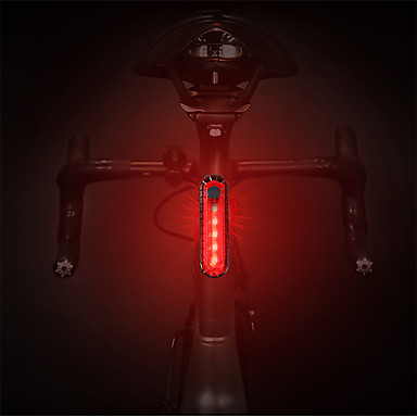 cheap Bike Lights-LED Bike Light Rear Bike Tail Light Safety Light Tail Light Mountain Bike MTB Cycling Waterproof Portable Quick Release Rechargeable Battery 1000 lm Rechargeable Power White Red Cycling / Bike - HJ