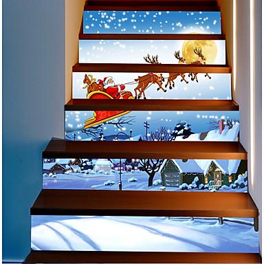 Autocolante de Perete Decorative - Sărbători perete Abțibilduri Crăciun Exterior / Birou