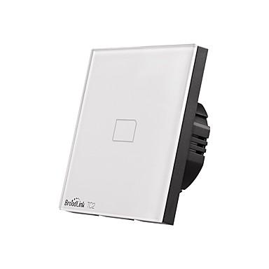 cheap Smart Switch-BroadLink Smart Switch TC2 1gang-EU for Living Room / Study / Bedroom APP Control / WIFI Control / intelligent 170-240 V