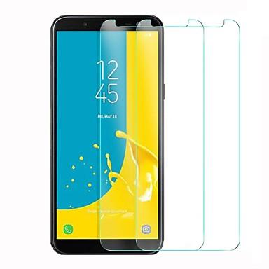 Näytönsuojat varten Samsung Galaxy J6 Karkaistu lasi 1 kpl Näytönsuoja Teräväpiirto (HD) / 9H kovuus / 2,5D pyöristetty kulma