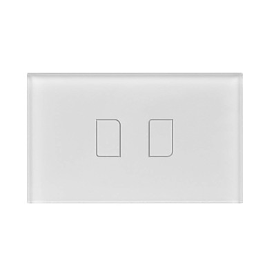 cheap Smart Switch-BroadLink Smart Switch TC2 2gang-US for Living Room / Study / Bedroom APP Control / WIFI Control / intelligent 110-150 V