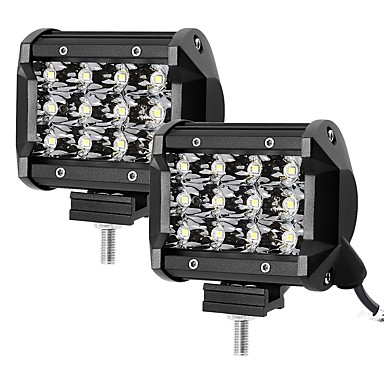 cheap Vehicle Work Lighting-OTOLAMPARA 2pcs 3.8 Inch 36W SMD 3030 3600lm 4WD 4X4 SUV ATV LED Work Light