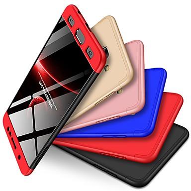 voordelige Galaxy J-serie hoesjes / covers-hoesje Voor Samsung Galaxy J7 Max Schokbestendig / Mat Achterkant Effen Hard PC