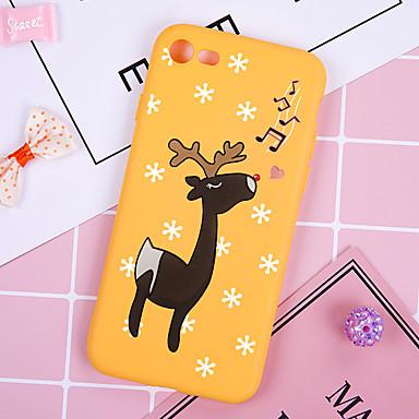 voordelige iPhone 5 hoesjes-hoesje Voor Apple iPhone XS / iPhone XR / iPhone XS Max Patroon Achterkant dier / Kerstmis Zacht TPU