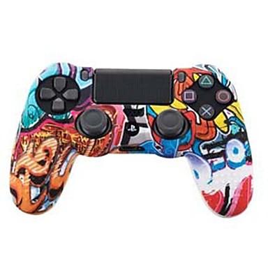 TOYILUYA Kits de controlador de juego Para Sony PS4 ,  Creativo / Gradiente de Color / Gracioso Kits de controlador de juego Silicona 1 pcs unidad
