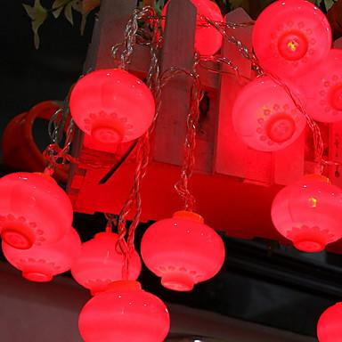 10 m Łańcuchy świetlne 38 Diody LED Czerwony Dekoracyjna 220-240 V 1 zestaw