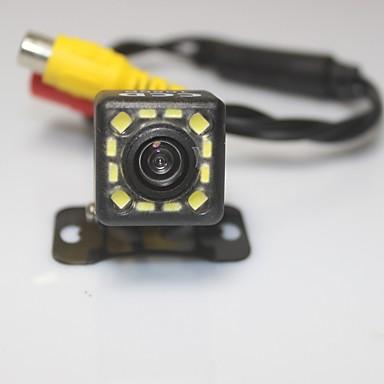 voordelige Auto-achteruitkijkcamera-Park Assist systeem auto achteruitrijcamera 1080p 12 geleid ccd hd achteruitkijkspiegel omgekeerde universele back-up camera waterdicht