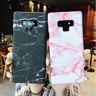 voordelige Galaxy Note-serie hoesjes / covers-hoesje Voor Samsung Galaxy Note 9 / Note 8 Glow in the dark / Mat Achterkant Marmer Hard PC