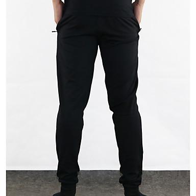 economico Abbigliamento uomo-Per uomo Essenziale / Moda città Quotidiano Pantaloni della tuta Pantaloni - Tinta unita Cotone Nero Rosso Grigio L XL XXL