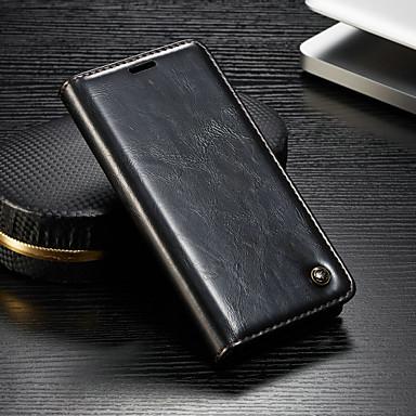 voordelige Hoesjes / covers voor Sony-hoesje Voor Sony Sony Xperia XZ3 / Xperia XZ2 Compact / Xperia XZ2 Portemonnee / Kaarthouder / met standaard Volledig hoesje Effen Hard PU-nahka