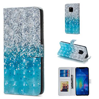 voordelige Huawei Mate hoesjes / covers-hoesje Voor Huawei Huawei Honor 10 / Huawei Honor 8X / Honor 7A Portemonnee / Kaarthouder / met standaard Volledig hoesje Kleurgradatie Hard PU-nahka