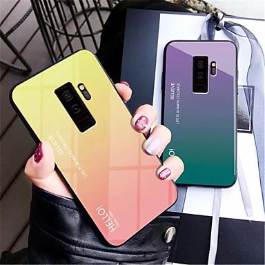 6da322ee69f Funda Para Samsung Galaxy Galaxy S10 / Galaxy S10 Plus Espejo Funda Trasera  Gradiente de Color