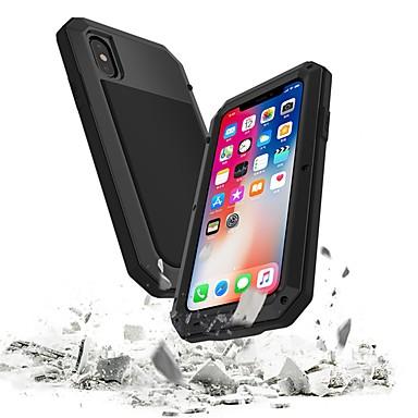 voordelige iPhone 5 hoesjes-hoesje Voor Apple iPhone XS / iPhone XR / iPhone XS Max Waterbestendig / Schokbestendig Volledig hoesje Schild Hard Metaal