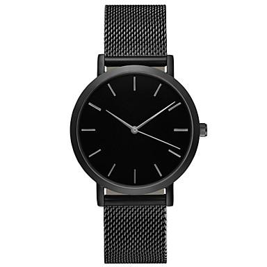 Χαμηλού Κόστους Ανδρικά ρολόγια-Geneva Ανδρικά Αθλητικό Ρολόι Ρολόι Καρπού  Χαλαζίας Ανοξείδωτο Ατσάλι Μαύρο   776e6af8bb5