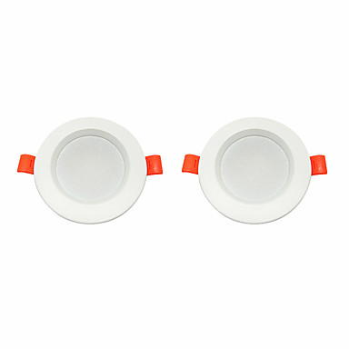 2 szto. 5 W 360 lm 10 Koraliki LED Łatwa instalacja Zagłębiony Oświetlenie downlight LED Ciepła biel Zimna biel 220-240 V Dom / biuro Salon / jadalnia
