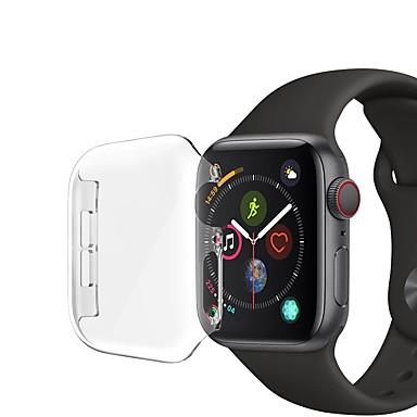 Недорогие Кейсы для Apple Watch-Кейс для Назначение Apple Apple Watch Series 4 / Apple Watch Series 3 / Apple Watch Series 2 пластик Apple