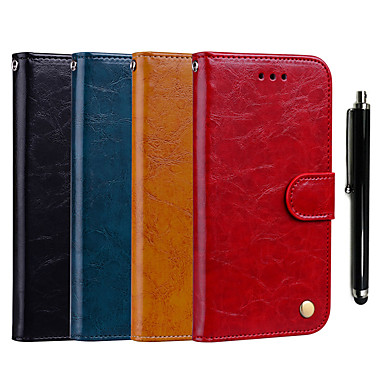 pretty nice 80602 ee978 [$7.99] Case For Samsung Galaxy J6 / J2 PRO 2018 Wallet / Card Holder /  with Stand Full Body Cases Solid Colored Hard PU Leather for J8 (2018) / J6  / ...