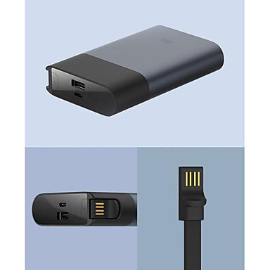 Недорогие Универсальные аксессуары для мобильных телефонов-Xiaomi 10000 mAh Назначение Внешняя батарея Power Bank 5/9/12 V Назначение Назначение Зарядное устройство КК 2.0