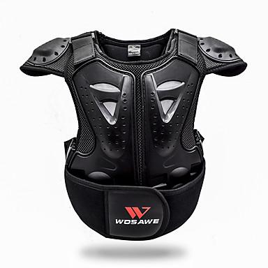 Недорогие Средства индивидуальной защиты-WOSAWE BC205 Мотоцикл защитный механизм для Армированный Все Полиэстер / Этиленвинилацетат Для детей / Защита от удара / Защита детей