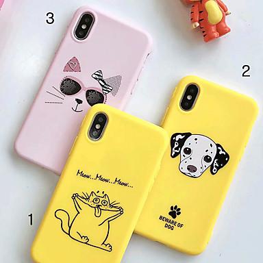 Coque Pour Apple iPhone XR / iPhone XS Max Motif Coque Animal / Bande dessinée Flexible TPU pour iPhone XS / iPhone XR / iPhone XS Max