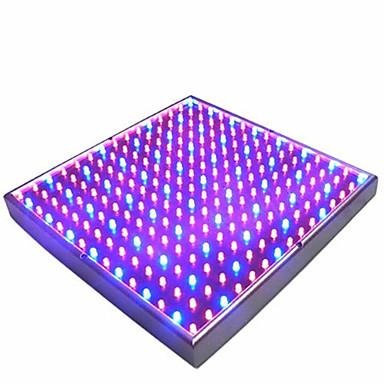 billiga LED-glödlampor-1pc 225leds 15w led växa ljuslampa hydroponic 165red 60blue eu-kontakt för inomhusväxter blomma vegetabilisk inomhus trädgård ac85-265v