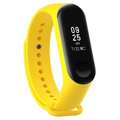 voordelige Smartwatch-accessoires-Horlogeband voor Mi Band 3 Xiaomi Sportband Rubber Polsband