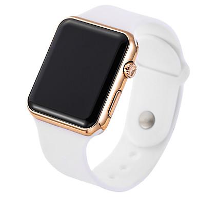 abordables Relojes de Hombre-Hombre Reloj Deportivo Reloj Digital Digital Silicona Negro / Blanco Reloj Casual Digital Minimalista - Oro / Blanco Negro / Oro Rosa / Acero Inoxidable