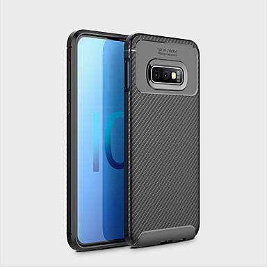 Недорогие Чехлы и кейсы для Galaxy S-Кейс для Назначение SSamsung Galaxy Galaxy S10 E Защита от удара / Ультратонкий Кейс на заднюю панель Геометрический рисунок Мягкий ТПУ