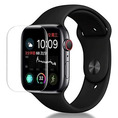 povoljno Apple Watch zaštita ekrana-Screen Protector Za Apple Watch Series 4 PET Visoka rezolucija (HD) / Ultra tanko 3 kom.
