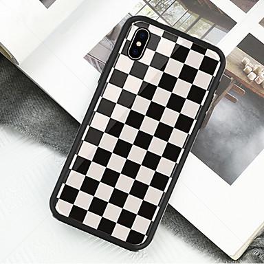 voordelige iPhone 6 Plus hoesjes-hoesje Voor Apple iPhone XS / iPhone XR / iPhone XS Max Patroon Volledig hoesje Geometrisch patroon Hard Acryl