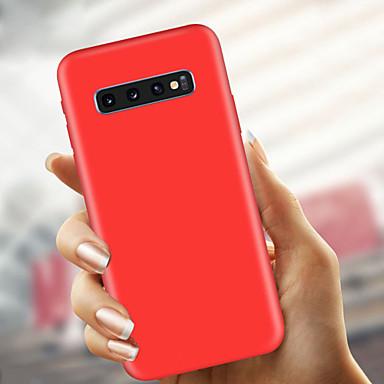 voordelige Galaxy S-serie hoesjes / covers-hoesje Voor Samsung Galaxy S9 / S9 Plus / S8 Plus Ultradun / Mat Achterkant Effen Zacht TPU