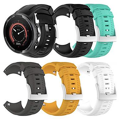 voordelige Smartwatch-accessoires-Horlogeband voor SUUNTO 9 Suunto Sportband Silicone Polsband