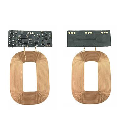 Недорогие Гаджеты для Samsung-Cwxuan Беспроводное зарядное устройство Зарядное устройство USB Универсальный Беспроводное зарядное устройство / Qi 1 A DC 5V для