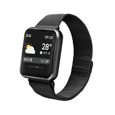 F68 Men Smartwatch Android iOS Bluetooth Smart Sports Waterproof Heart Rate Monitor Blood Pressure Measurement Stopwatch Pedometer Call Reminder Activity Tracker Sleep Tracker / Touch Screen