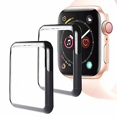 Недорогие Защитные пленки для Apple Watch-Защитная плёнка для экрана Назначение Apple Watch Series 4 Закаленное стекло HD / Уровень защиты 9H / Взрывозащищенный 1 ед.