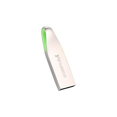 yvonne 32 GB flash disk USB usb disk USB 2,0 Slitina hliníku 7705 / Kov nepravidelný geometrický vzor / Rozkošný Y302
