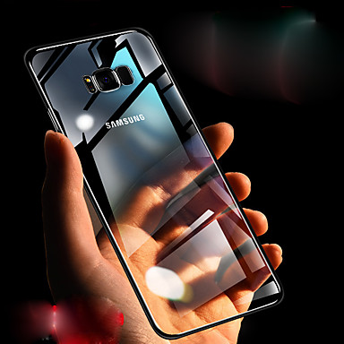 voordelige Galaxy Note-serie hoesjes / covers-hoesje Voor Samsung Galaxy Note 9 / Note 8 / Note 10.1 Transparant Achterkant Effen Hard TPU