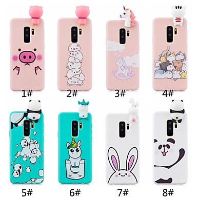 voordelige Galaxy S-serie hoesjes / covers-hoesje Voor Samsung Galaxy S9 / S9 Plus / S8 Plus Mat / DHZ Achterkant Cartoon Zacht TPU