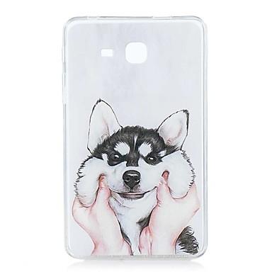 voordelige Samsung Tab-serie hoesjes / covers-hoesje Voor Samsung Galaxy Tab A 7.0 (2016) Patroon Achterkant Hond Zacht TPU