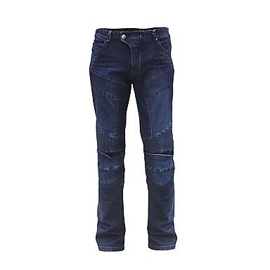 voordelige Beschermende uitrusting-rijzeem heren motorfiets jeans slim fit beschermende motorcross broek