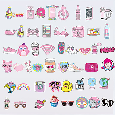 Autocollant de Protection pour Universel Anti-Rayures Bande dessinée / Princesse Motif PVC iPhone X / iPhone 8 Plus / iPhone 7 Plus