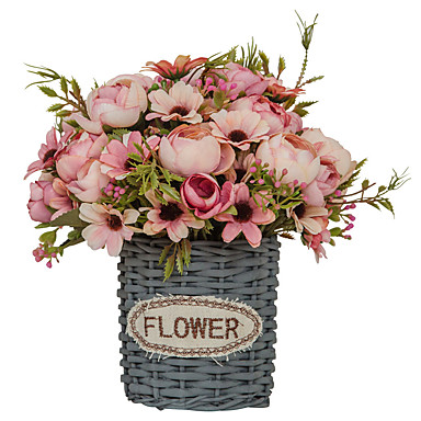 ieftine Decor Casă-Flori artificiale 1 ramură Single stil minimalist Modern Plante suculente Față de masă flori