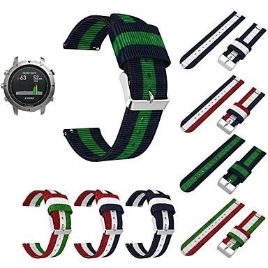 voordelige Smartwatch-accessoires-Horlogeband voor Fenix Chronos Garmin Sportband Stof / Nylon Polsband
