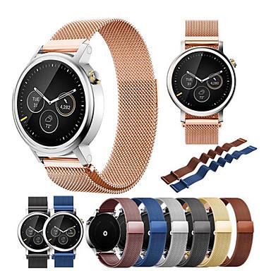 voordelige Smartwatch-accessoires-Horlogeband voor Moto 360 2nd Motorola Sportband / Milanese lus Roestvrij staal Polsband