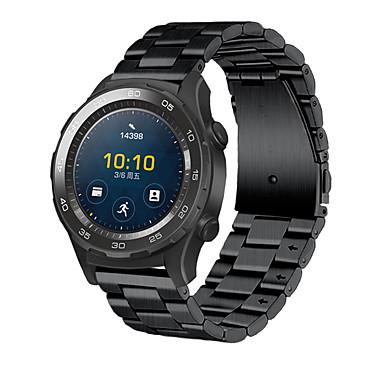 Недорогие Ремешки для часов Huawei-Ремешок для часов для Huawei Watch 2 Huawei Спортивный ремешок / Классическая застежка Металл / Нержавеющая сталь Повязка на запястье