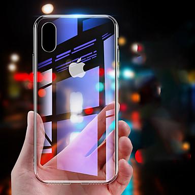 voordelige iPhone X hoesjes-hoesje Voor Apple iPhone XS / iPhone XR / iPhone X Spiegel Achterkant Effen Hard Gehard glas